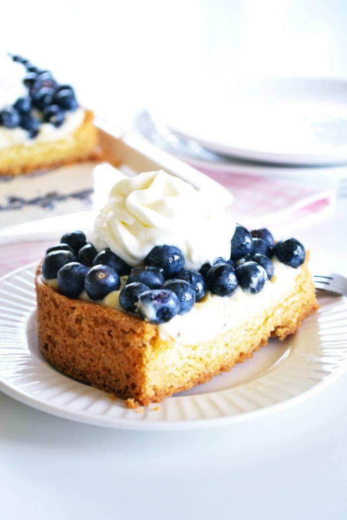 Blueberry Frangipane Tart | Koekbook