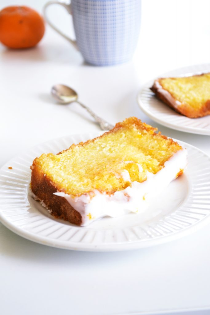 Mandarin and Lemon Drizzle Loaf | Koekbook