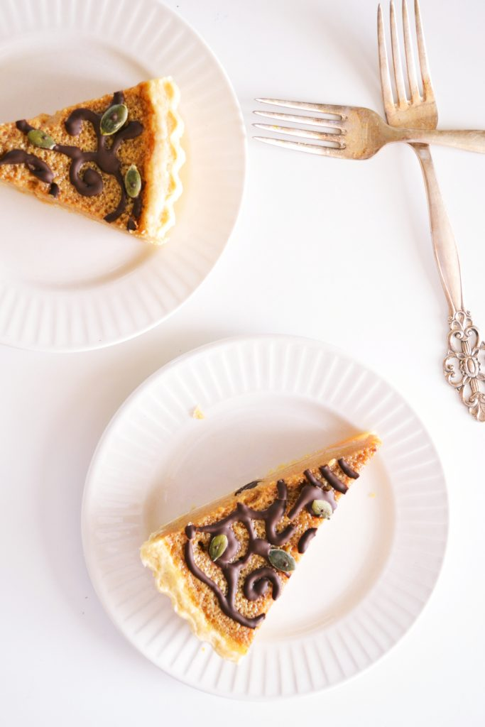 Decorated Pumpkin Pie | Koekbook
