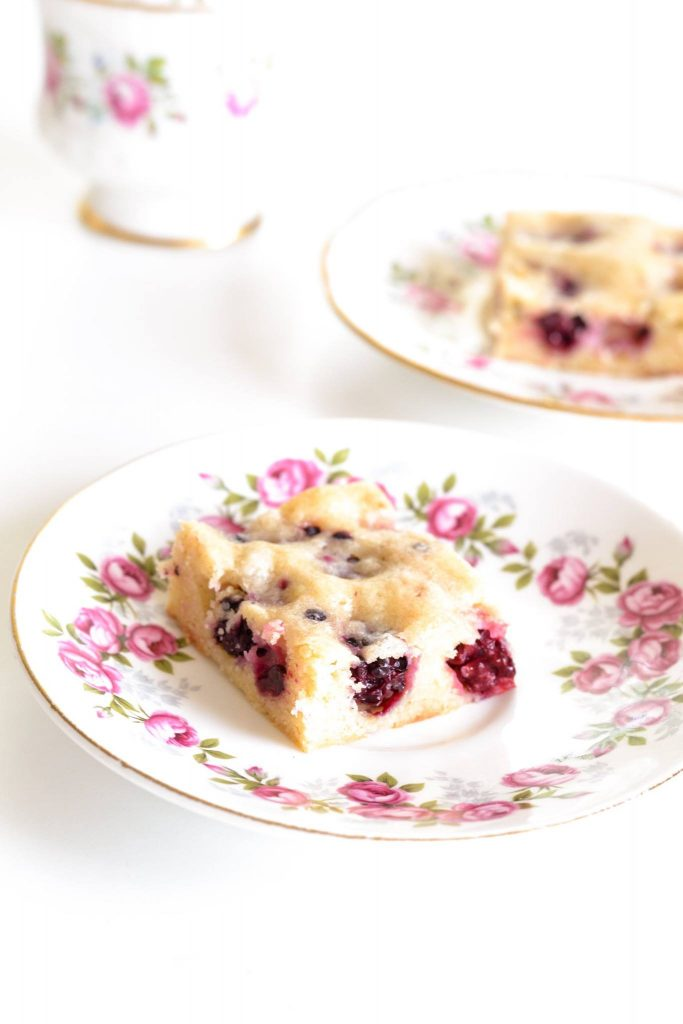 Blackberry Blondies | Koekbook