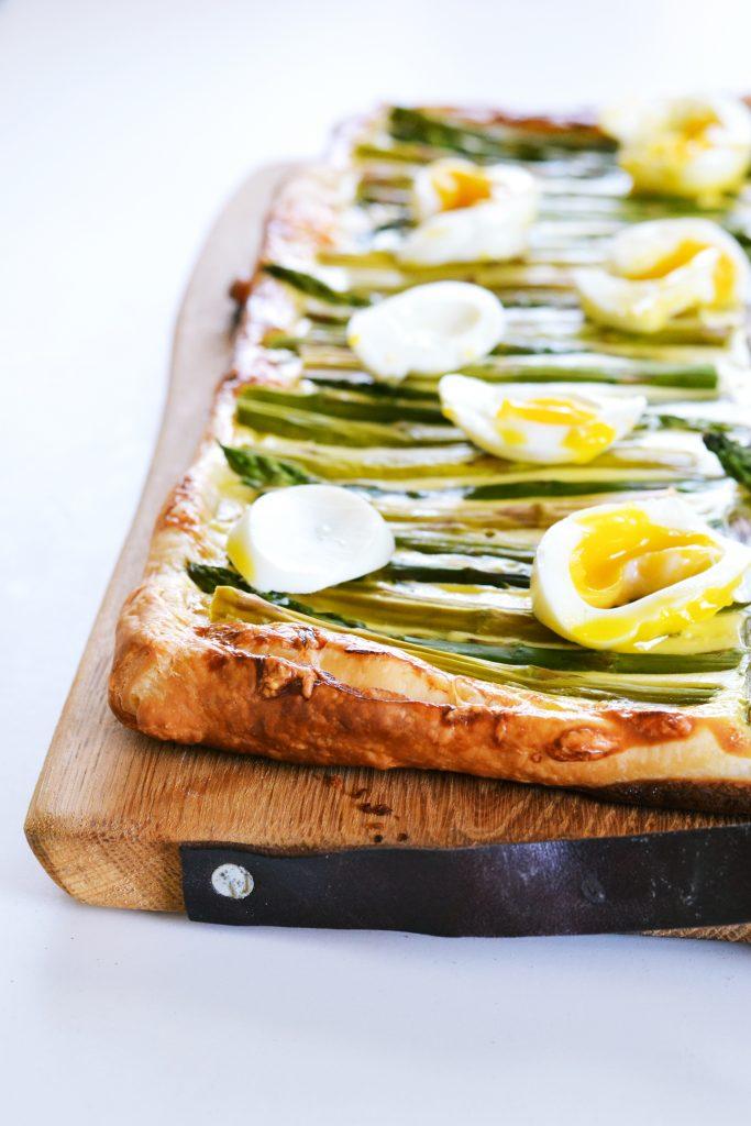 Asparagus and Egg Tart | Koekbook