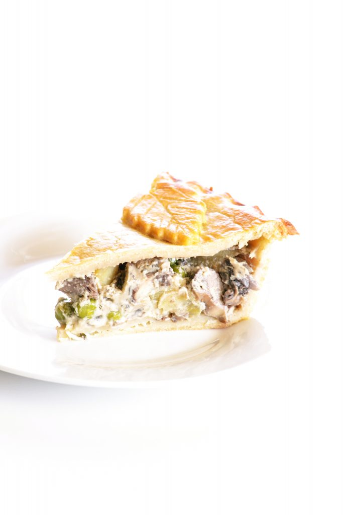 Mushroom Hot Water Crust Pie | Koekbook