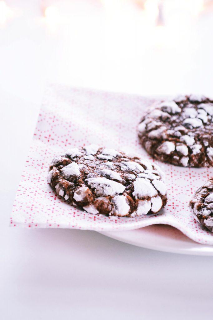 Besneeuwde Browniekoekjes | Koekbook